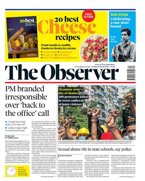 The Observer 2021-03-28