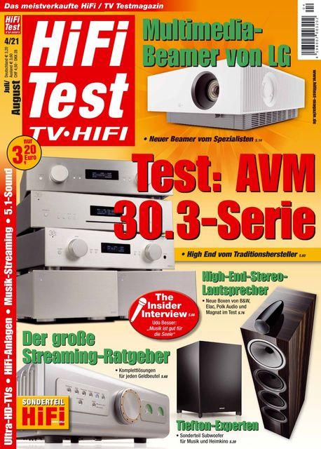 HiFi Test TV • HiFi Ausgabe 04/2021