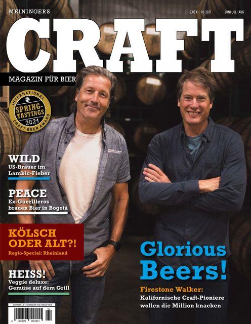Meiningers Craft - Magazin für Bierkultur Ausgabe 03/2021
