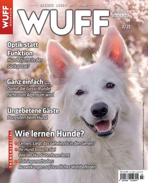 Hundemagazin WUFF Ausgabe 03/2021