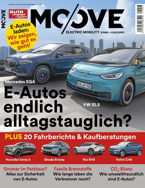 Auto Motor und Sport MOOVE Magazin 2021-06-07