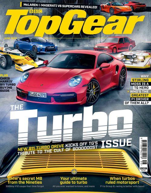 BBC Top Gear Magazine issue 06/2020