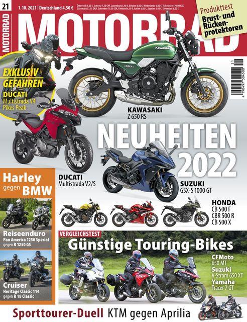 Motorrad Ausgabe 21/2021
