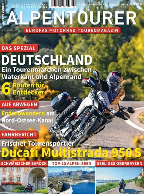 ALPENTOURER – Europas Motorrad-Tourenmagazin Ausgabe 03/2019