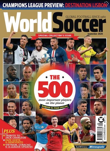 World Soccer issue 09/2020