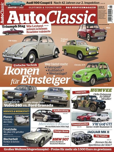 Auto Classic Ausgabe 01/2021