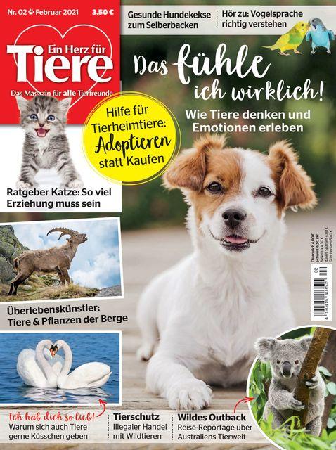 Ein Herz für Tiere Ausgabe 02/2021