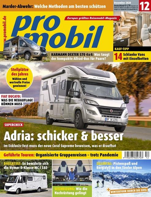 Promobil Ausgabe 12/2020