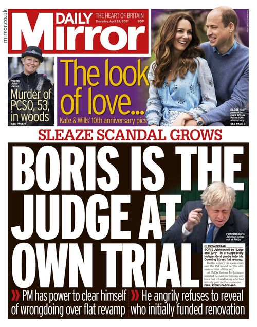 Daily Mirror 2021-04-29