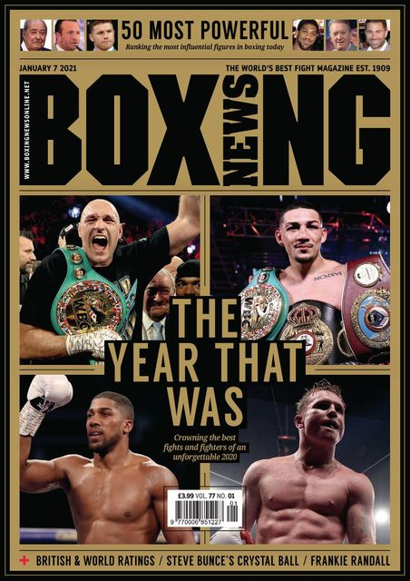 Boxing News 2021-01-07