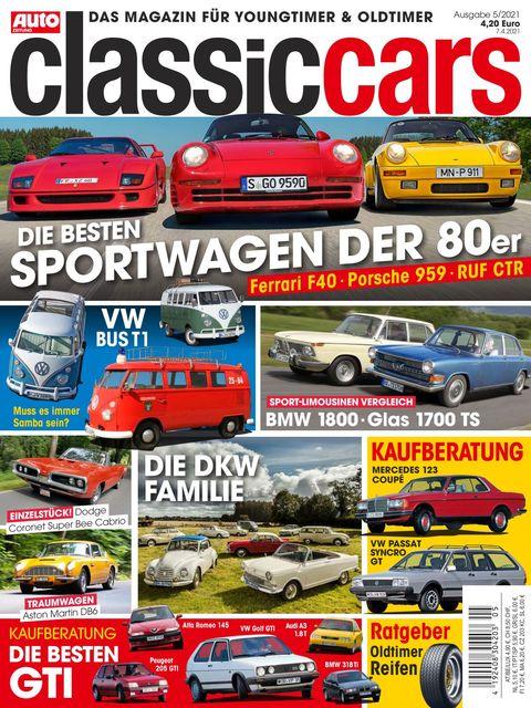 AUTO ZEITUNG classic cars Ausgabe 5/2021