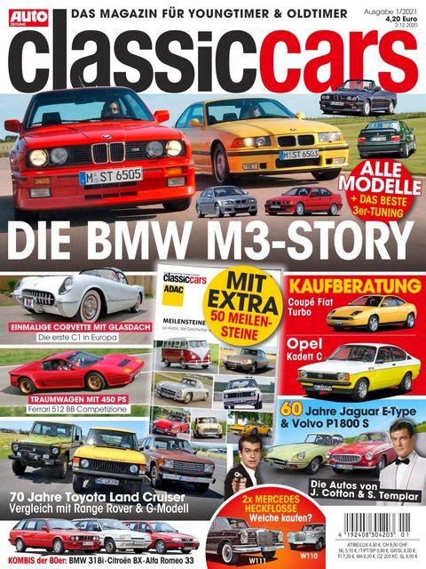 AUTO ZEITUNG classic cars Ausgabe 1/2021