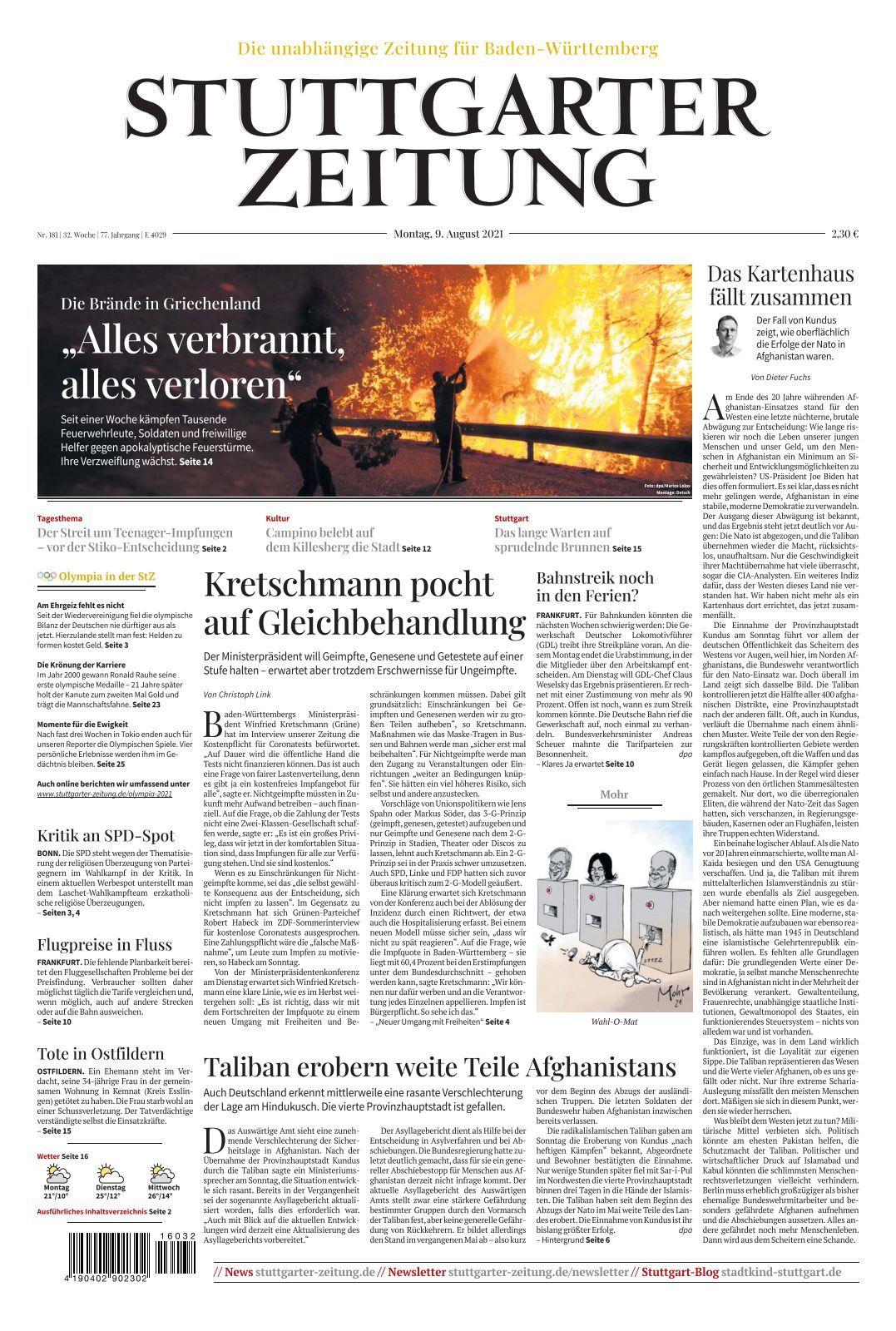 Single - aktuelle Themen, Nachrichten & Bilder - Stuttgarter Zeitung