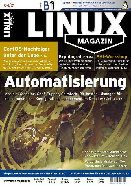 Linux Magazin Ausgabe 04/2021