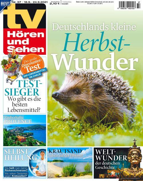 TV Hören und Sehen Ausgabe 37/2021