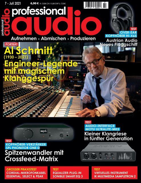 Professional audio Ausgabe 07/2021