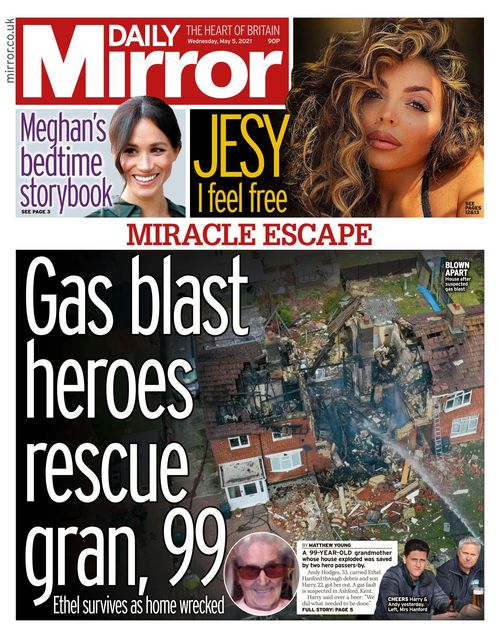 Daily Mirror 2021-05-05