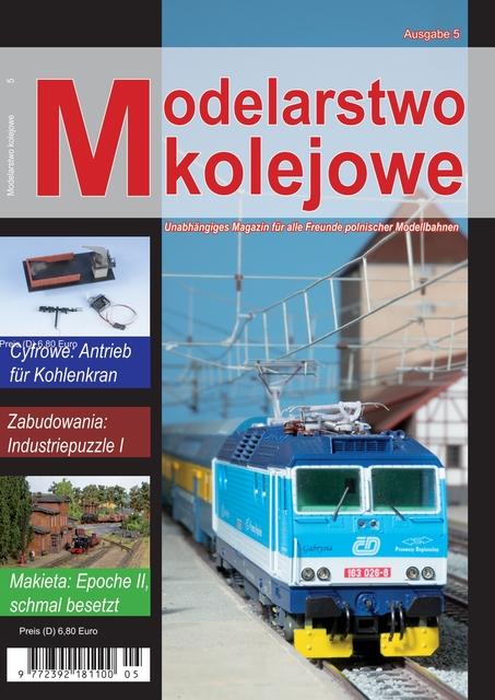 Modelarstwo kolejowe (DE) Ausgabe 5