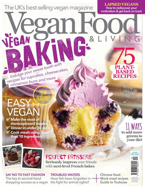 Vegan Food & Living issue 06/2021 - Vegan Baking