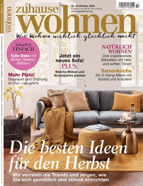 Zuhause Wohnen Ausgabe 10/2020