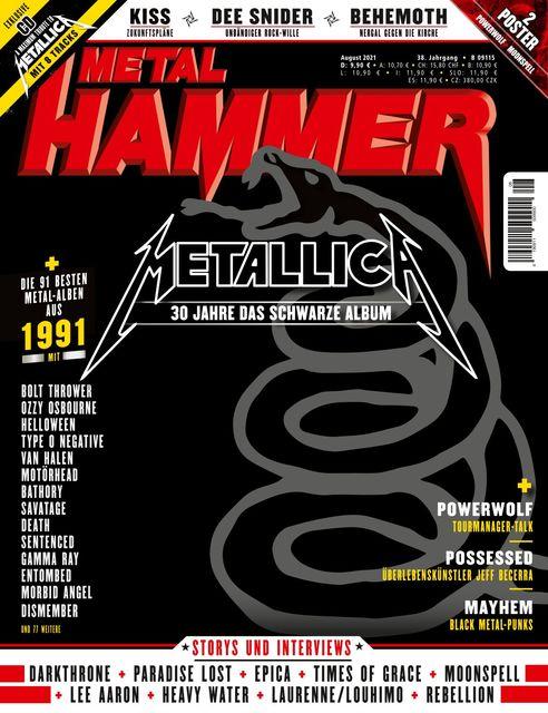 METAL HAMMER Deutschland Ausgabe 08/2021