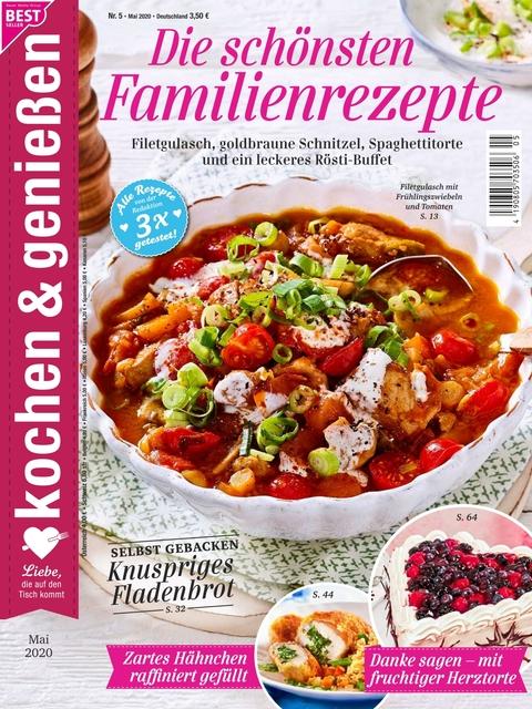 Kochen und Genießen Ausgabe 5/2020