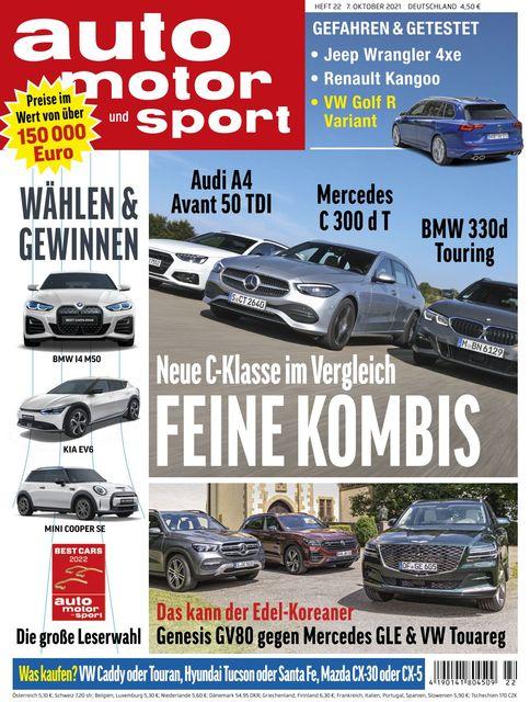 Auto Motor und Sport 2021-10-06
