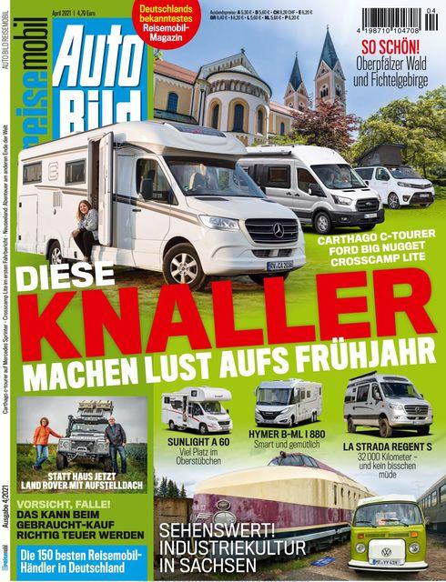 AUTO BILD Reisemobil Ausgabe 04/2021
