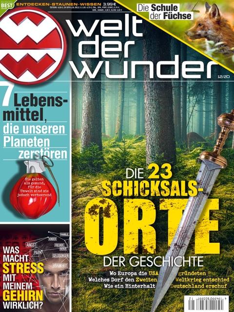 Welt der Wunder Ausgabe 12/2020