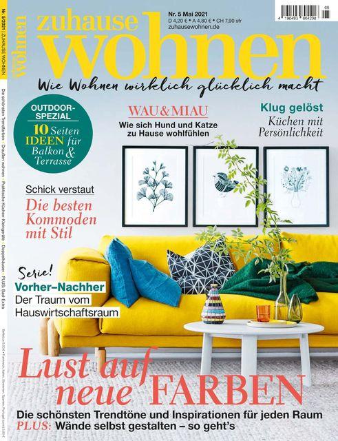 Zuhause Wohnen Ausgabe 05/2021