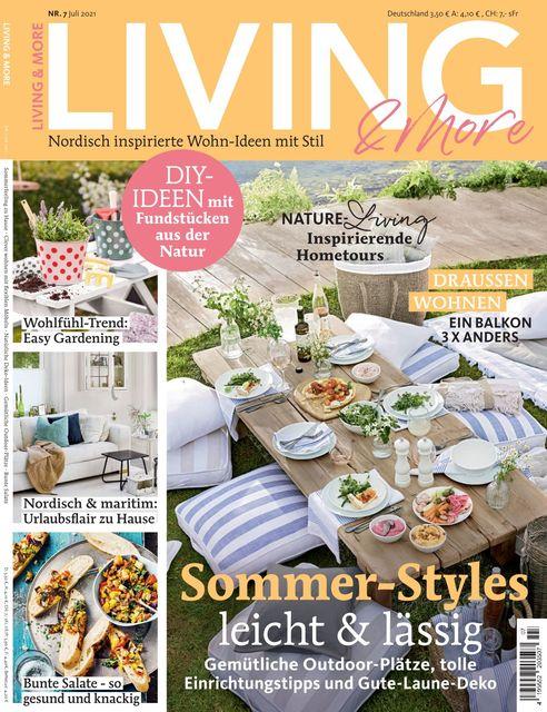 Living & More Ausgabe 07/2021