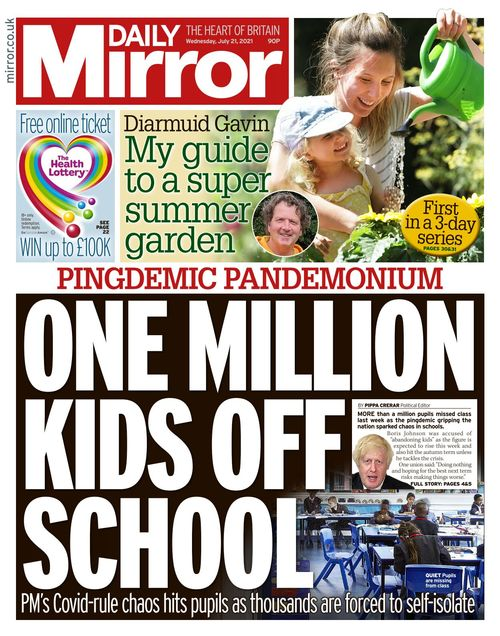 Daily Mirror 2021-07-21