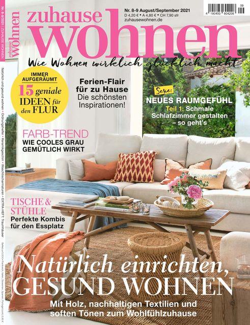Zuhause Wohnen Ausgabe 08-09/2021