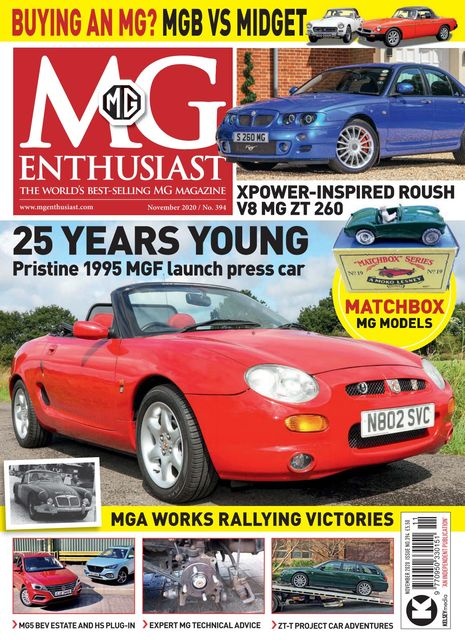 MG Enthusiast issue 11/2020