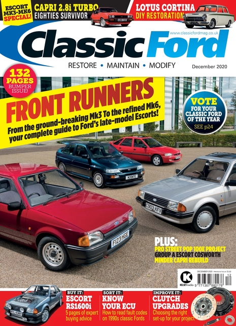 Classic Ford issue 12/2020