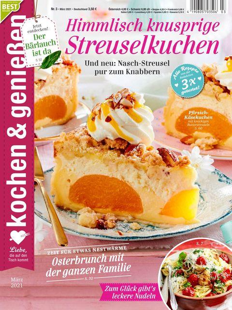 Kochen und Genießen Ausgabe 3/2021