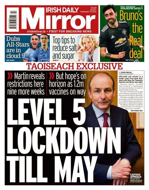 Irish Daily Mirror 2021-02-19