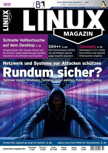 Linux Magazin Ausgabe 10/2021