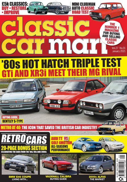 Classic Car Mart issue 01/2021