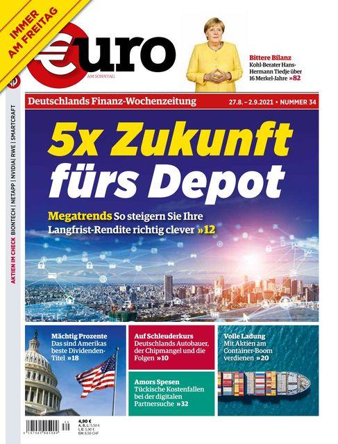 Euro am Sonntag 2021-08-27