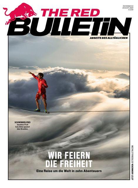 The Red Bulletin Österreich Magazin Ausgabe 08/2021