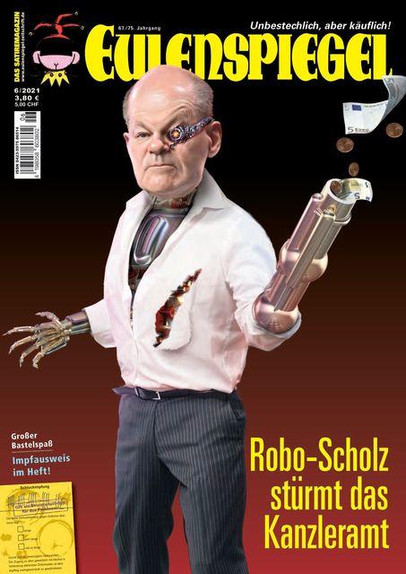 EULENSPIEGEL Ausgabe 06/2021