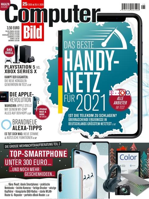 COMPUTER BILD Ausgabe 25/2020