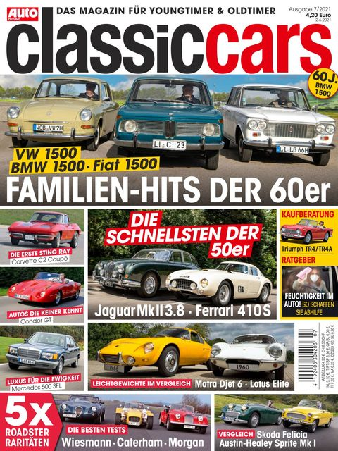 AUTO ZEITUNG classic cars Ausgabe 7/2021