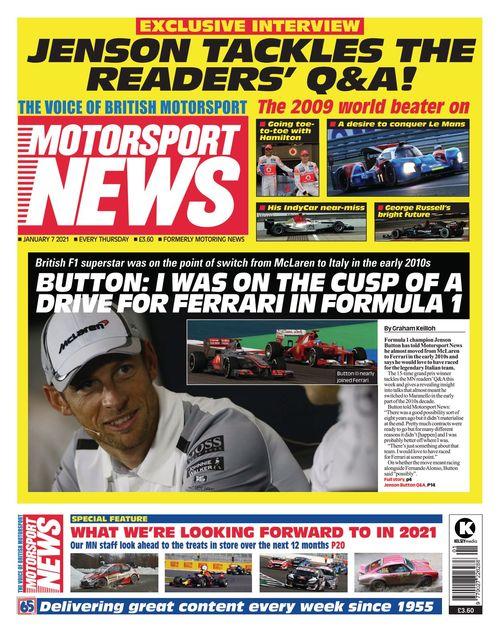 Motorsport News 2021-01-07