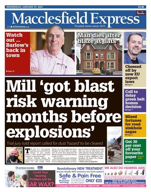 Macclesfield Express 2021-01-27