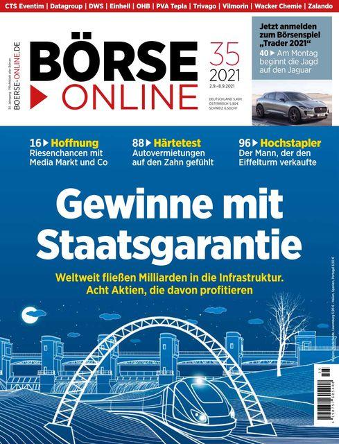 Börse Online Ausgabe 35/2021