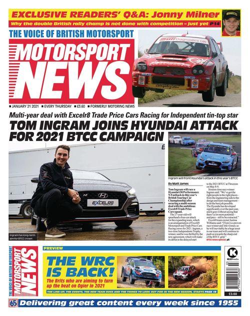Motorsport News 2021-01-21