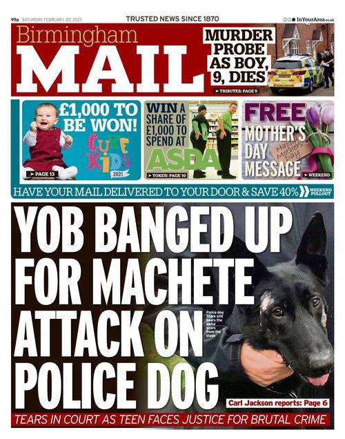 Birmingham Mail 2021-02-20