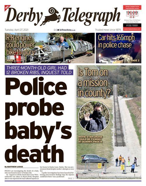 Derby Telegraph 2021-04-27